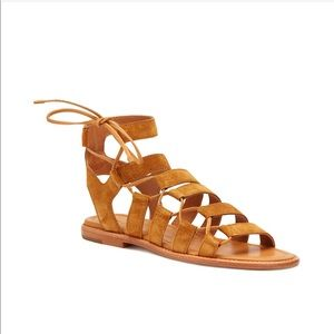 Frye Shoes - Strappy Frye nude & classy!